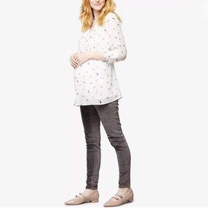 Maternity Skinny Corduroy Pants